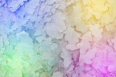 Bevroren bladerenachtergrond Royalty-vrije Stock Foto's