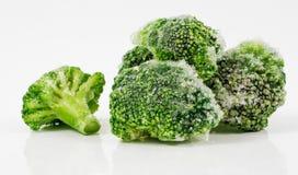 Bevroren broccoli Stock Afbeeldingen