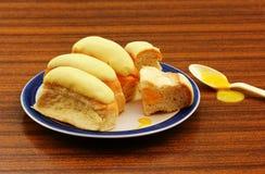 Bevroren Broodjes Royalty-vrije Stock Fotografie
