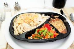 Bevroren Diner Royalty-vrije Stock Fotografie