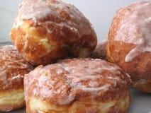 Bevroren donuts Royalty-vrije Stock Afbeelding