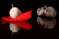 Bevroren druiven Royalty-vrije Stock Afbeeldingen