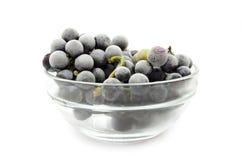 Bevroren druiven Stock Foto's
