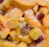 Bevroren fruit Royalty-vrije Stock Foto