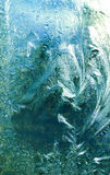 Bevroren glas Stock Afbeelding