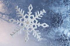 Bevroren glasachtergrond royalty-vrije stock foto