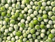 Bevroren groene erwten Stock Foto