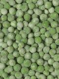 Bevroren groene erwten Royalty-vrije Stock Foto