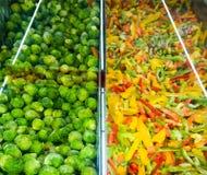 Bevroren groenten Stock Foto