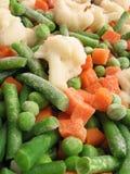 Bevroren groenten Stock Afbeeldingen