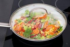 Bevroren groenten Royalty-vrije Stock Foto