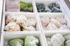 Bevroren groenten Stock Afbeelding