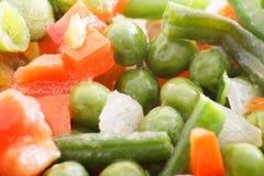 Bevroren groenten Stock Foto's
