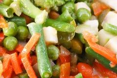 Bevroren groenten Stock Fotografie