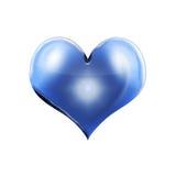 Bevroren hart Stock Foto