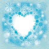 Bevroren hart Royalty-vrije Illustratie