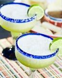 Bevroren Kalk Margaritas royalty-vrije stock afbeeldingen