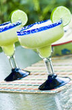 Bevroren Kalk Margaritas royalty-vrije stock fotografie