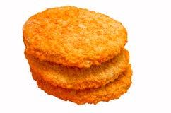 Bevroren kippenburgers Royalty-vrije Stock Afbeelding