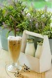 Bevroren koffie Royalty-vrije Stock Fotografie