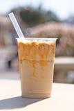 Bevroren koffie Royalty-vrije Stock Afbeeldingen