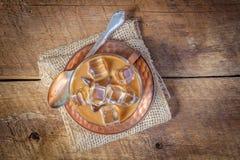 Bevroren koffie Stock Fotografie