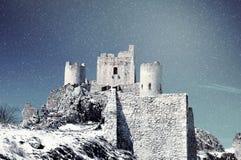 Bevroren landschap, Italië Royalty-vrije Stock Fotografie