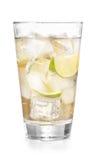 Bevroren limonade in glas royalty-vrije stock foto's