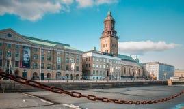 Bevroren mening van Gotegorg stock foto's