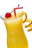 Bevroren oranje drank Royalty-vrije Stock Foto's