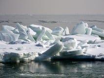 Bevroren overzees Royalty-vrije Stock Foto
