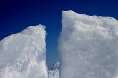 Bevroren overzees Stock Foto
