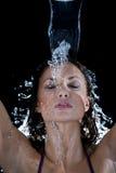 Bevroren plons Royalty-vrije Stock Foto
