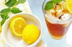 Bevroren thee stock afbeeldingen