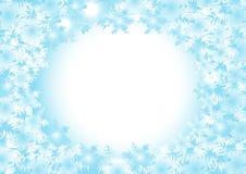 Bevroren vectorachtergrond Stock Afbeeldingen