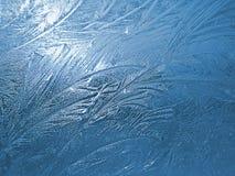 Bevroren venster 2 Royalty-vrije Stock Afbeeldingen