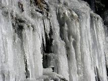 Bevroren water Stock Foto