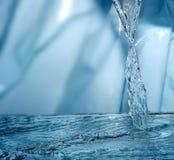 Bevroren water stock fotografie
