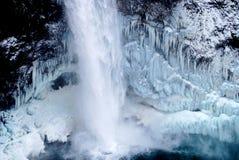 Bevroren waterdaling Royalty-vrije Stock Fotografie