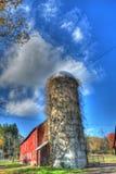 Bevuxen silo Royaltyfria Foton