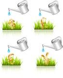 Bewässerung vektor abbildung