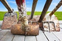 Bewässerung des Gartens tool Lizenzfreies Stockbild