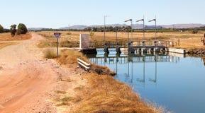 Bewässerung in Kununurra Lizenzfreie Stockbilder