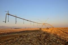Bewässerungs-Boom Stockfotos