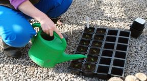 Bewässerungsanlagen Lizenzfreies Stockbild
