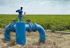 Bewässerungssysteme Lizenzfreies Stockfoto