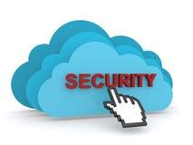 Bewölken Sie Sicherheit Lizenzfreie Stockbilder