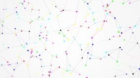 Bewölken Sie Technologie und die Datenverarbeitung, Internet von Sachen lizenzfreie abbildung