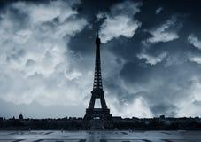 Bewölkt in Paris Stockbilder