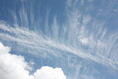 Bewölkte Himmel Stockfoto